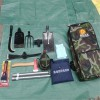 便携式双肩包组合工具包 防汛组合工具包7件套 防汛应急救援包