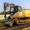 挖掘机改装轨道行走轮 铁路施工行走轮厂家直销质保一年