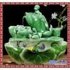 陶瓷喷泉流水鱼摆件  陶瓷喷泉装饰品  陶瓷喷泉 鱼缸