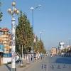 公路工程路灯青花手绘陶瓷灯柱2米3米4米多段人物山水画可定制