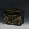 景德镇陶瓷骨灰盒 方形小号骨灰坛捡骨罐祭祀用品 骨灰盒外贸